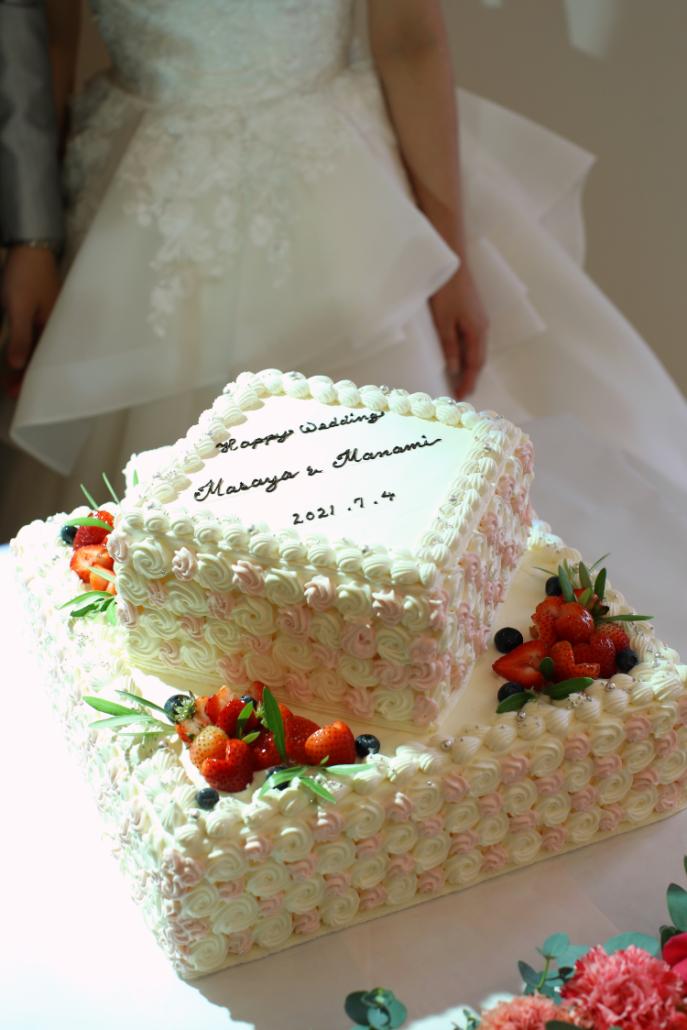 こだわりが詰まったケーキ